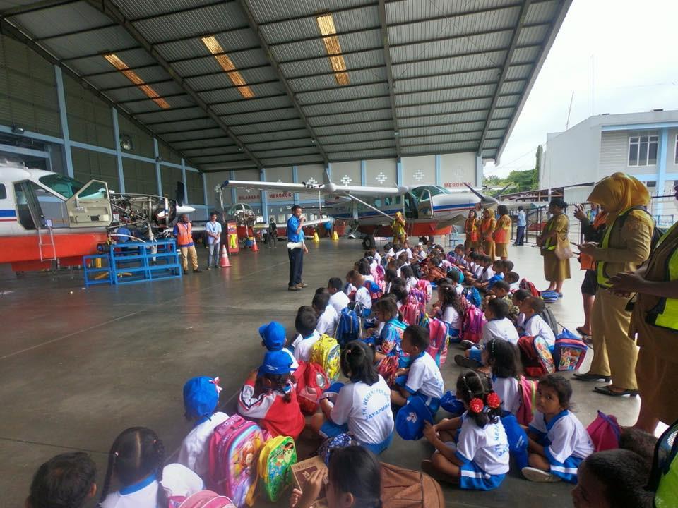 Kunjungan dari TK Negeri Pembina Jayapura